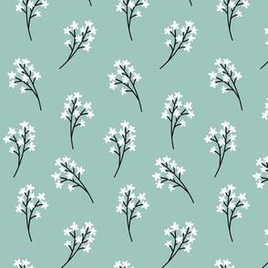 Flower Buds (ice blue)