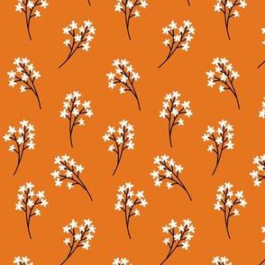 Flower Buds (russet orange)