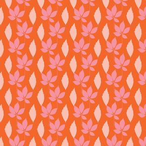 Autumn pastel colors leaves