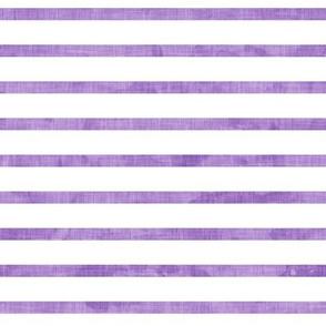 stripes - nautical stripes in purple - LAD19