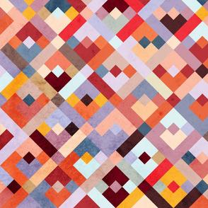 color squares | vintage