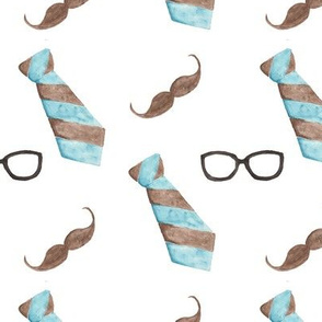 Tie Mustache
