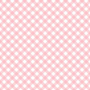 Pink Gingham Bias