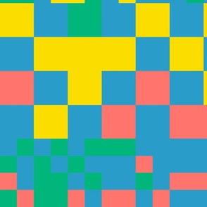 Pixel squares