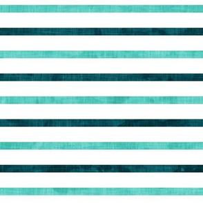 stripes - teal 2 tone - LAD19