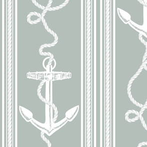 Anchor Rope Ocean Grey