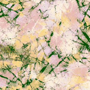 Tree Breeze | Blush, Yellow, Green