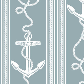 Anchor Rope Slate Blue