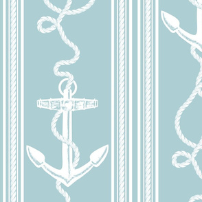 Anchor Rope Light Blue