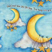 moon and stars-large scale