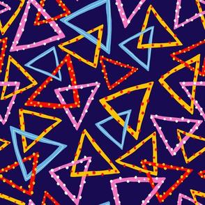 Dotty Triangles - Dark