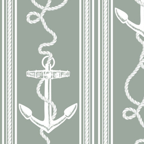 Anchor Rope Dark Sea Gray