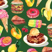 food illustration-emerald large scale