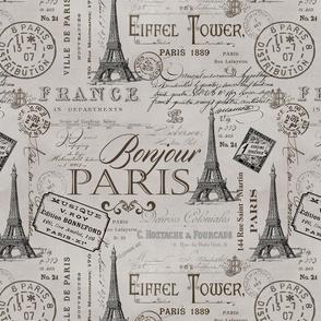 Vintage Paris Pattern