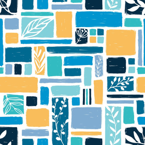 Garden blocks - seaside - large scale