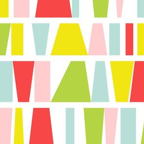 color blocks | large scale