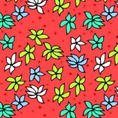 Hawaii Flower Blooms | Red