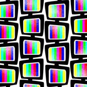 No signal television box