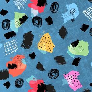 Color Blocks Coordinate (Shapes Blue)