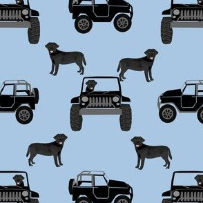 black lab fabric - dog fabric, black labrador, labrador design - cute dog