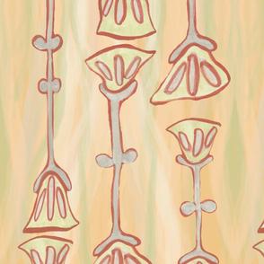 mid-mod tulips