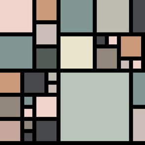 Color Blocking-Muted Palette