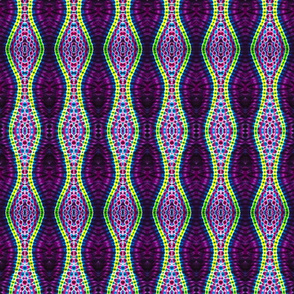 Undulating Purple Ripples
