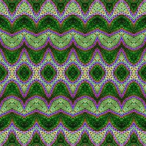 Weird Green Zigzag
