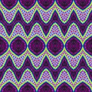 Purple Bloated Diamonds