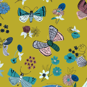 Moths and Florals