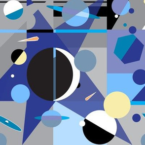 Exo Exxo Planets Stars Block art