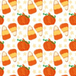 Project 417 | Pumpkins and Candy Corn