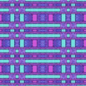 Abstract Painted purple bars