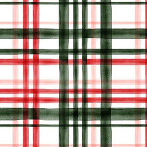 Christmas Plaid - Green, red, green, and pink - LAD19