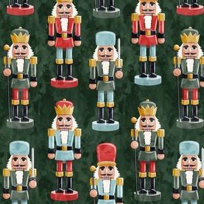Nutcracker - green - christmas - solider  - LAD19
