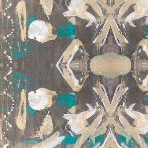 Glam Bird Abstract