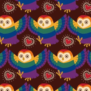 Rainbow Owlie Dance