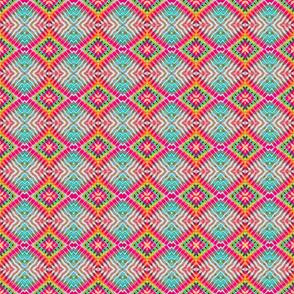 Pink Ribbed Diamond Blocks