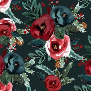 Scarlett holiday rose evergreen