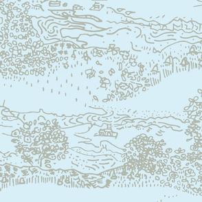 Isle of Canna pale blue