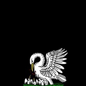 Order of the Pelican (black)