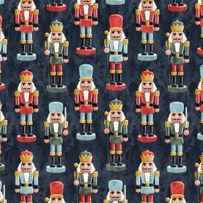 (small scale) Nutcracker - blue - christmas - solider  - LAD19