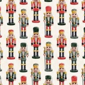 (small scale) Nutcracker - cream - christmas - solider  - LAD19