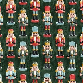 (small scale) Nutcracker - green - christmas - solider  - LAD19