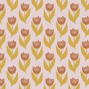 Maeve wallpaper floral, pink