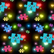 Kawaii autism puzzles 2
