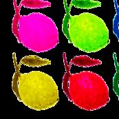 colored lemons