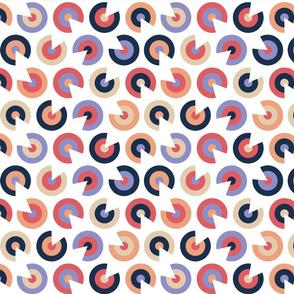 Retro Record Cut Circles
