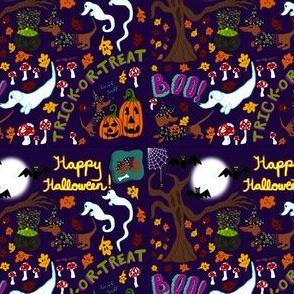 Diva Dachshund's Halloween