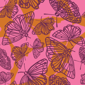 Butterfly in the Sky (pink)